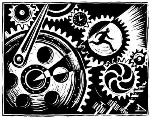 Are we just cogs in a machine?