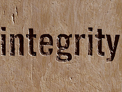 Integrity cc Flickr via Mamluke